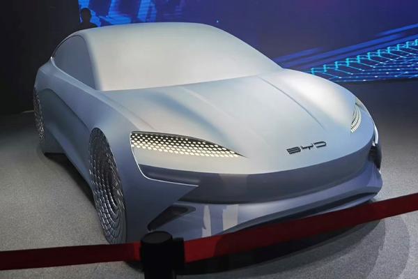 基于e平台3.0 比亚迪新一代概念车ocean-X发布